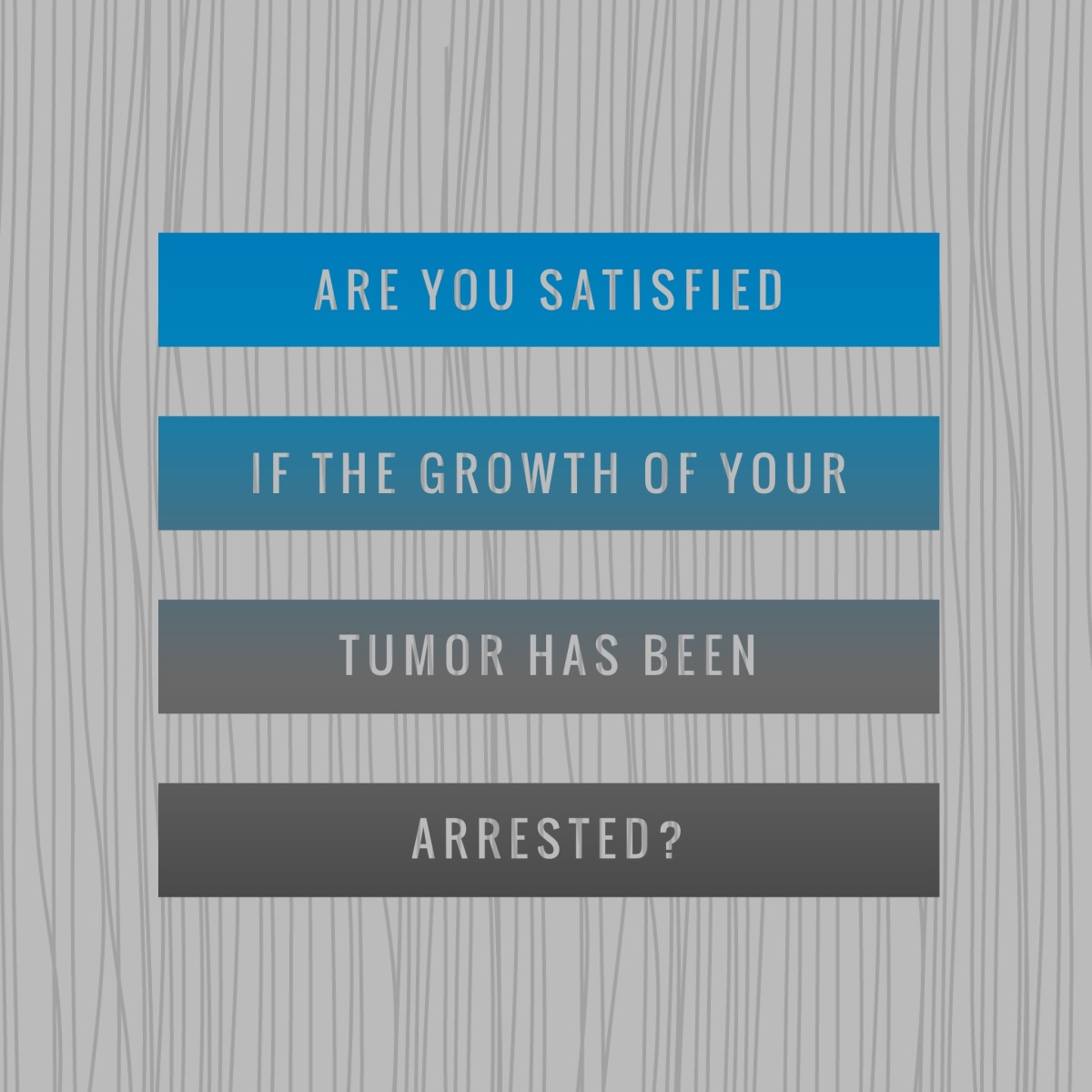Brain Tumor Survivor Stats…1 year out